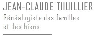 J-C Thuillier // Généalogiste familial à Paris
